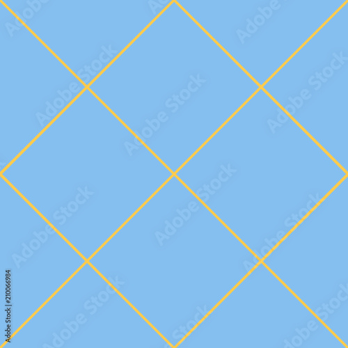Seamless pattern in the cell, intersecting lines Wallpaper Mural