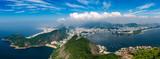 Panorama Rio de Janeiro seen from high vantage point