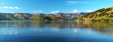 Akaroa Harbour, Banks Peninsula, New Zealand