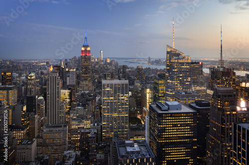 Staande foto New York City New York City skyline