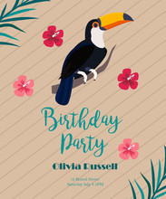 Cocktail, Birthday Invitation ...