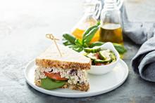 Chicken Salad Sandwich With Sp...