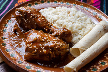 Mexican Mole Sauce With Chicken
