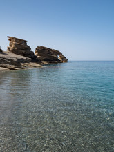 Triopetra Rocks And Blue Water...
