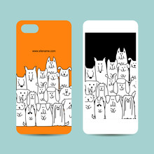 Mobile Phone Design, Funny Dog...