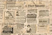 Creative Vintage Background Paper Texture Newspaper Strips
