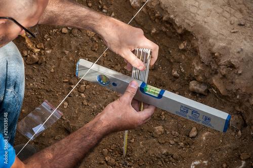 Fotografie, Obraz  misura scavo