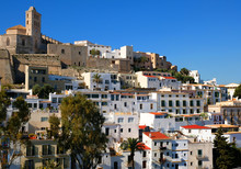 Ibiza,town, The Cathedral And ...