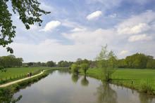 Authentic Dutch Landscape With...