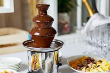 Chocolate Fountain, Fondue