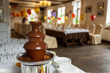 Chocolate Fountain, Fondue