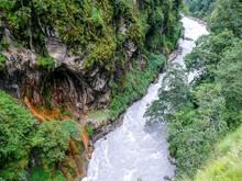 Canyon Of Wild Marsyangdi Rive...