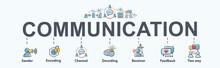 Communication Banner Web Icon ...