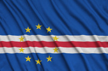 Cabo Verde Flag  Is Depicted O...
