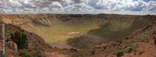Meteor Crater found in Arizona Wallpaper Mural