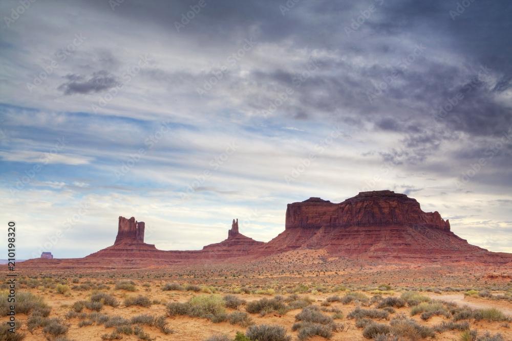 6dc1b1929 Western scene at Monument Valley, Arizona and Utah #210198320 ...