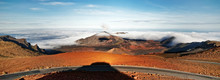 Panorama Of A Wide Volcanic La...