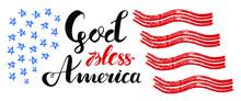 God Bless America Hand Drawn V...