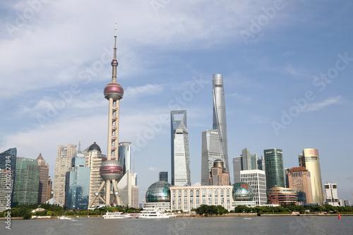 Deurstickers Shanghai 上海