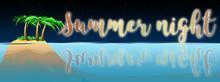 Summer Night Graphic