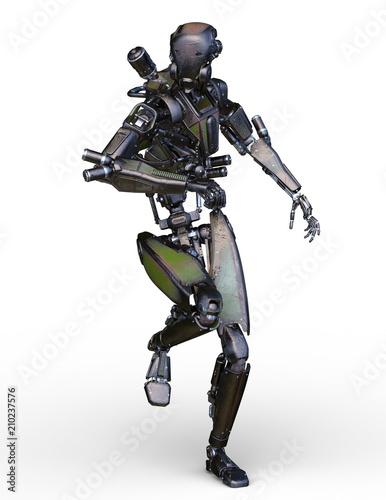 Fotomural 戦闘ロボット
