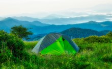 Tent Camping On The Appalachia...