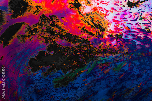 Fototapety, obrazy: Abstract marbling art patterns  as colorful background