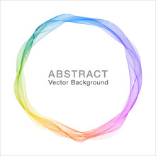 Abstract Rainbow Background #v...