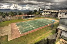 Tennis Court - Chin State, Myanmar