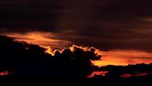 Dramatic Sunset Over Manila Ba...