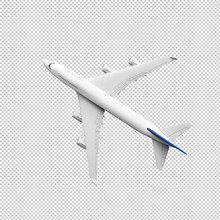 Model Plane,airplane Mock Up.clipping Path