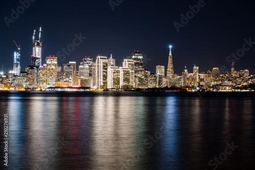 Fototapety, obrazy: San francisco bay at night