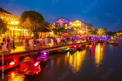 Hoi An ancient town riverfront