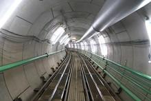 Tokyo,Japan-June 22,2018: Second Tagara River   Rainwater Storage Trunk Line Is A Water Storage Tunnel To Control Inundation Being Built Twenty Meters Below Ground In Tokyo.