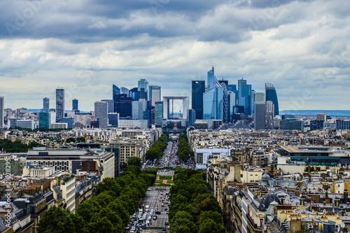 Poster de jardin Paris Paris Business