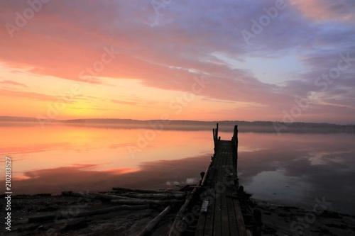 Fotografia  Bestattung auf See