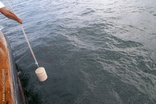 Foto Seebestattung im Meer
