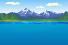 Beautiful Horizontal Landscape...