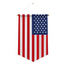 United States Flag Cloth Hangi...