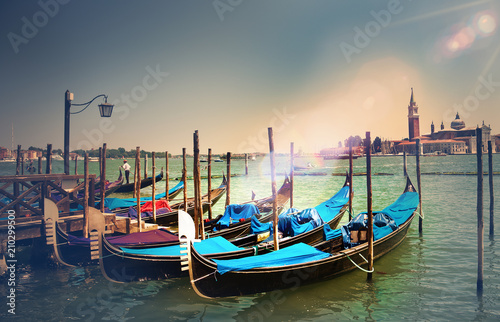 Deurstickers Imagination Venezia. Vacanze e turismo in Italia.