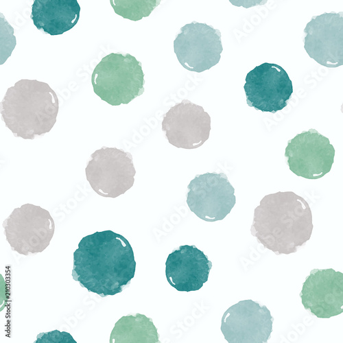 abstrakcyjne-zielono-szare-kropki-na-bialym-tle