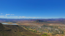 The Historic Town Graaff Reinet In The Karoo As Viewed From The Camdeboo National Park