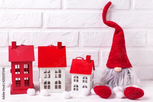 Fotografie, Obraz  Christmas background.