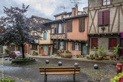 Photo Plaza medieval de Albi, Francia