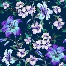 Beautiful Purple Tiger Lilies ...