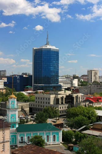Foto op Aluminium Indonesië View of the city of Chelyabinsk