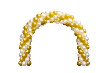 Balloon Archway Door Gold Yell...