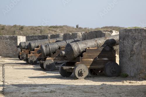 Foto op Plexiglas Vestingwerk Fort Beekenburg (Curacao / Niederländische Antillen / ABC-Inseln)