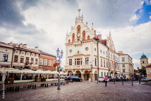 City hall in Rzeszow