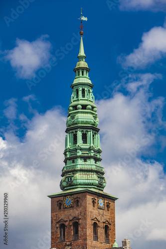 Nikolaj Church in Copenhagen, Denmark